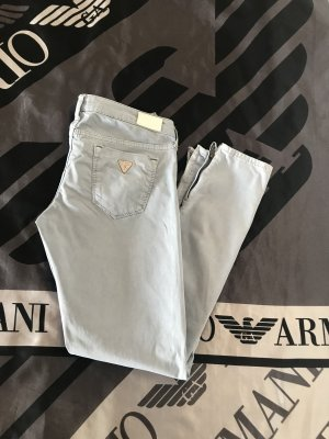 Guess Low-Rise Trousers azure