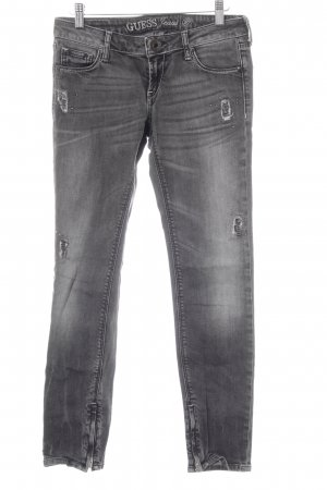 Guess Vaquero skinny gris antracita look casual