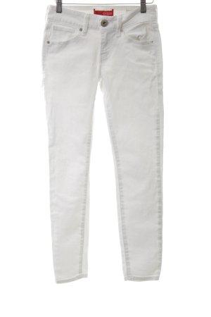Guess Jeans skinny blanc style décontracté