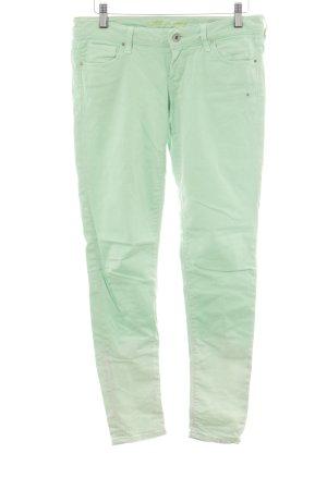 Guess Jeans skinny verde pallido Colore sfumato stile casual