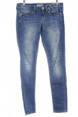 Guess Skinny jeans blauw zure was