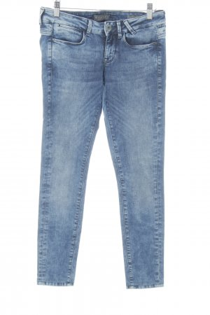 Guess Skinny jeans blauw simpele stijl