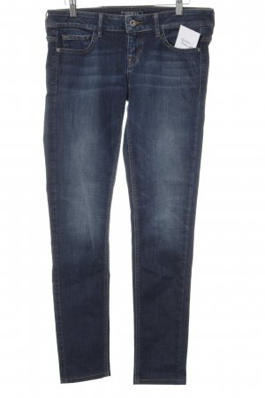 Guess Vaquero skinny azul-color plata look casual