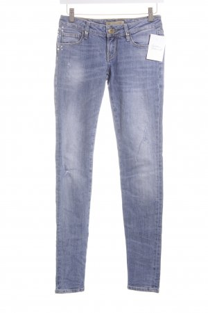 Guess Skinny Jeans blau Street-Fashion-Look