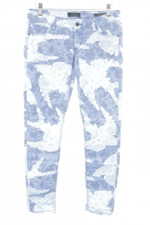 Guess Skinny jeans bloemenprint extravagante stijl