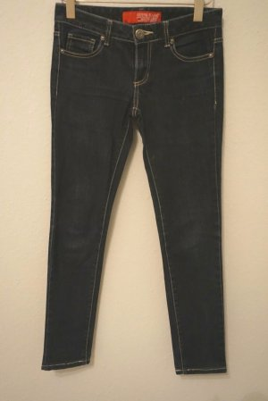 Guess Skinny Jeans dark blue cotton