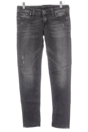 Guess Skinny Jeans dunkelgrau Casual-Look