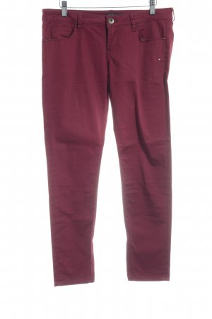 Guess Skinny Jeans dunkelrot Casual-Look