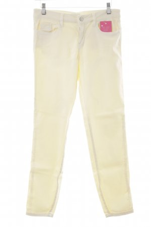 Guess Skinny Jeans hellgelb Casual-Look