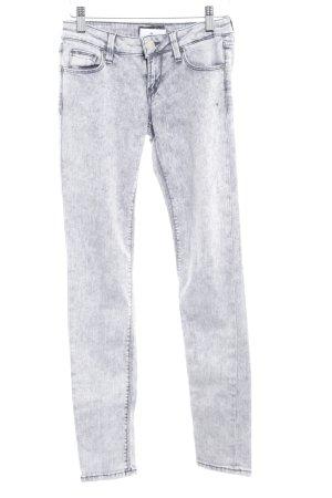 Guess Skinny Jeans hellgrau meliert Casual-Look