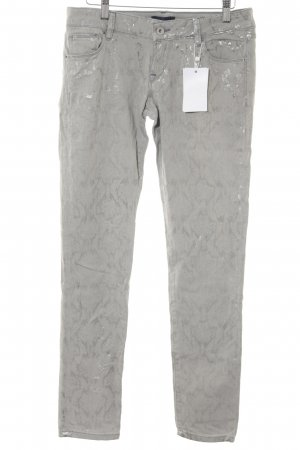 Guess Vaquero skinny gris claro-color plata degradado de color look casual