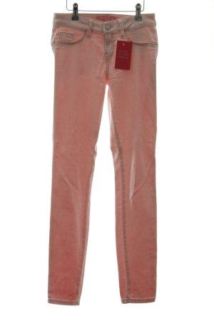 Guess Jeans skinny rosa chiaro stile casual