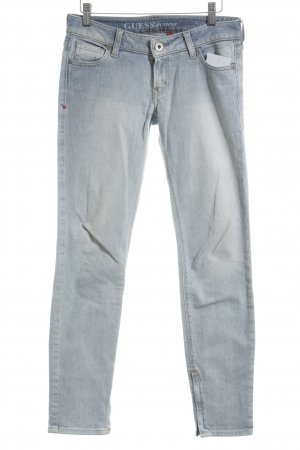 Guess Jeans skinny azzurro stile casual