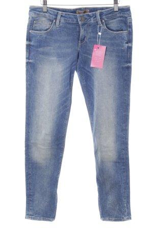 Guess Skinny Jeans kornblumenblau Casual-Look