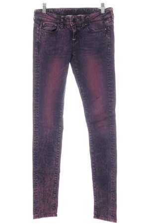 Guess Skinny Jeans purpur-dunkelviolett Casual-Look