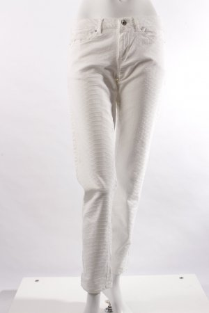Guess Vaquero skinny crema-blanco Algodón