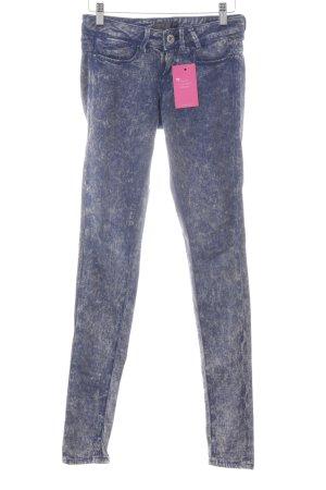 Guess Skinny Jeans stahlblau-hellgelb extravaganter Stil