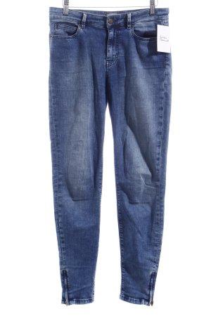 Guess Skinny Jeans stahlblau Jeans-Optik