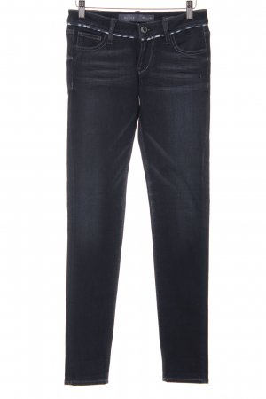 Guess Skinny Jeans taupe-wollweiß Used-Optik