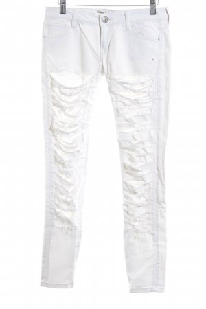 Guess Skinny Jeans weiß extravaganter Stil
