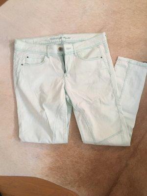 Guess, Skinnyhose, Gr. 27, mintgrün pastell
