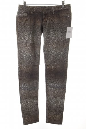 Guess Slim Jeans abstraktes Muster Casual-Look