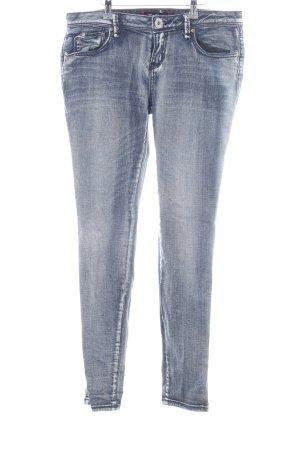 Guess Slim Jeans blue mixture fibre