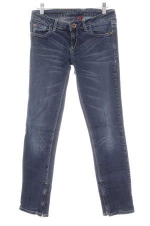 Guess Jeans slim bleu foncé style décontracté