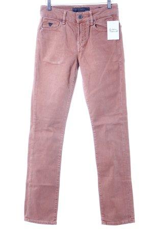Guess Slim Jeans dunkelorange Casual-Look