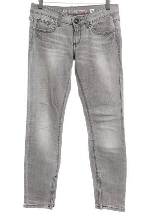 Guess Slim jeans grijs casual uitstraling