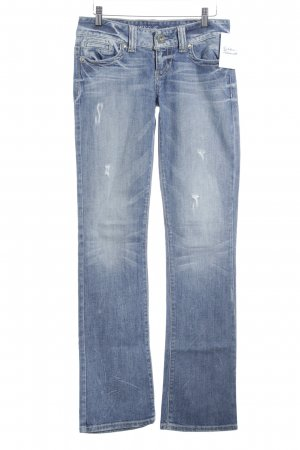 Guess Slim Jeans graublau Jeans-Optik