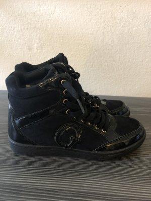 Guess High top sneaker zwart