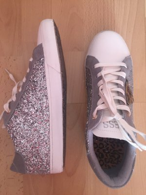 Guess sneaker low Silber grau