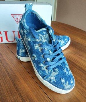 Guess Zapatillas azul aciano-blanco