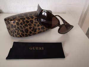 Guess Oval Sunglasses black brown