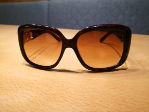 Guess Angular Shaped Sunglasses gold-colored-dark brown
