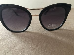 Guess Glasses black-gold-colored