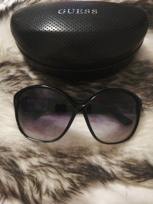 Guess Glasses black-silver-colored