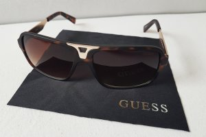 Guess Gafas marrón-color oro