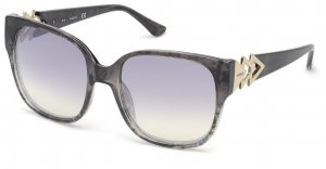 Guess Angular Shaped Sunglasses grey