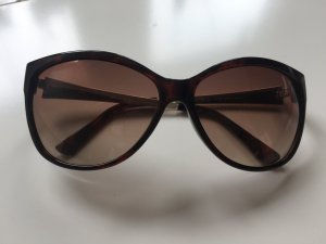 Guess Sunglasses black brown-gold-colored