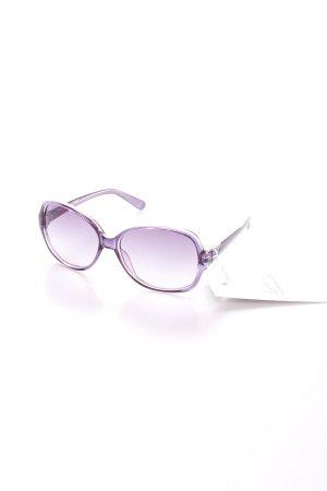 Guess Sonnenbrille lila-blauviolett Schmucksteinverzierung