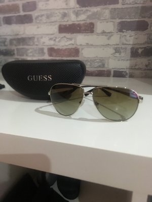Guess Round Sunglasses light brown