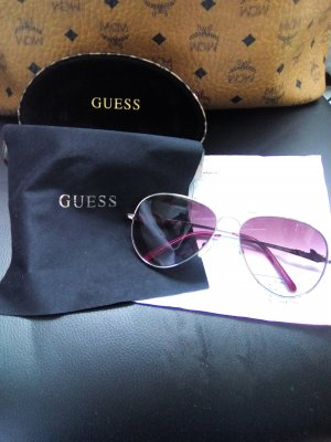 Guess Aviator Glasses pink no material specification existing