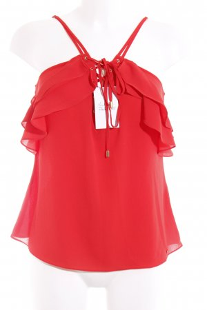 Guess Spaghetti Strap Top red party style