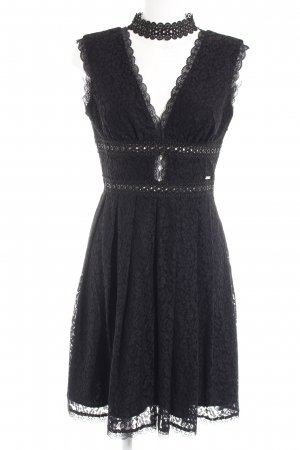Guess Spitzenkleid schwarz Party-Look