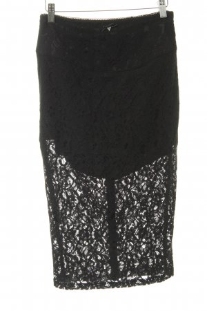 Guess Lace Skirt black elegant
