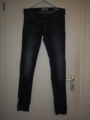 Guess Skinny Jeans dark blue-blue cotton