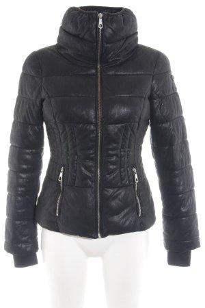 Guess Veste matelassée noir motif de courtepointe style extravagant