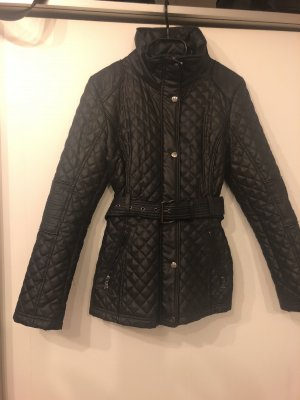 Guess Quilted Coat silver-colored-dark blue